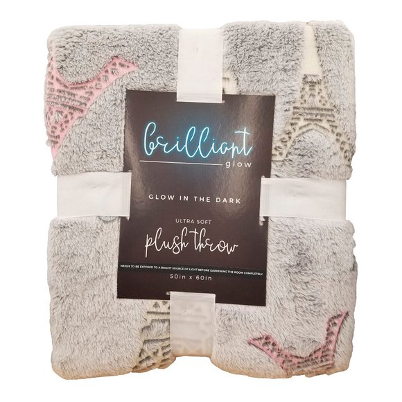 Other - 🆕Brilliant Glow Paris Plush Blanket